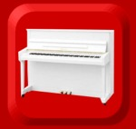 Piano George Steck Nieuw